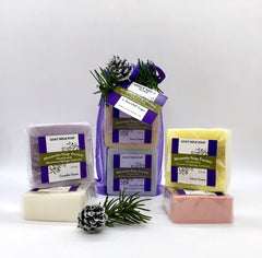 Holiday Gift Bag ~ Goat Milk Soap Collection