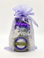 Holiday Gift Bag ~ Bathing Salts & Matching Soap