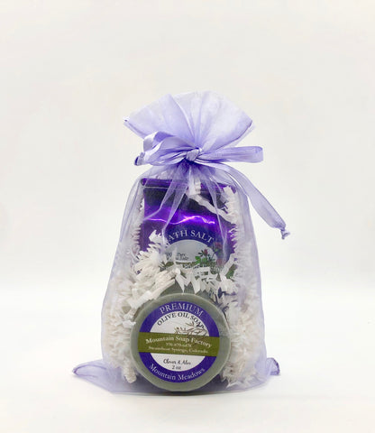Gift Bag ~ Bathing Salts & Matching Soap