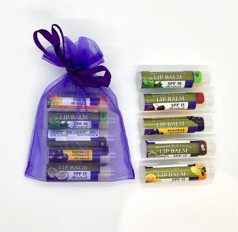 Gift ~ MSF Lip Balm Variety Pack