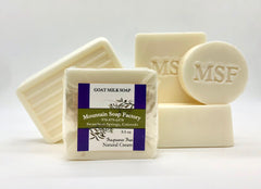 Natural Cream Goat's Milk Soap
