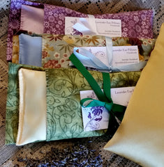 The Eye's Have It ~ Lavender & Flax Eye Pillows