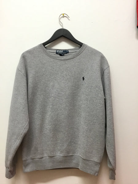 Polo by Ralph Lauren Gray Crewneck Sweatshirt