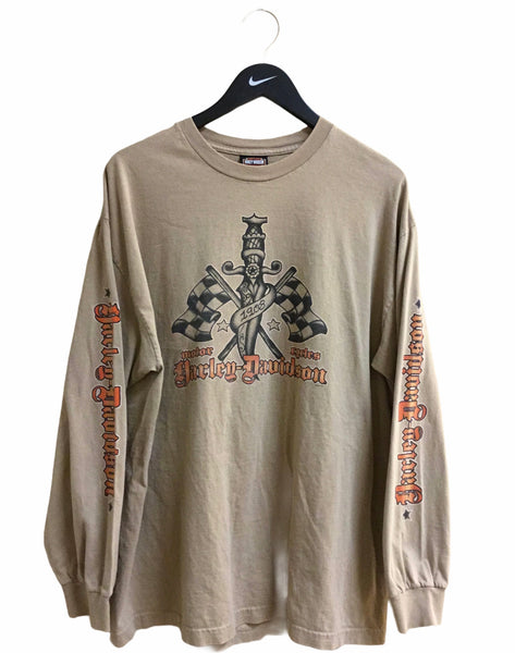Harley Davidson French Quarter New Orleans Long Sleeve Tee