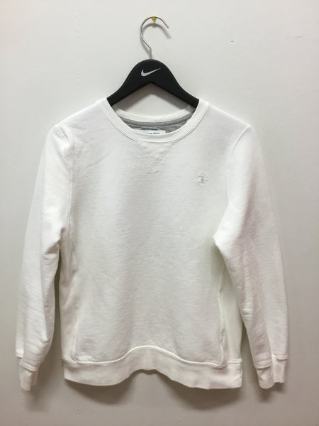 Champion White Crewneck Sweatshirt