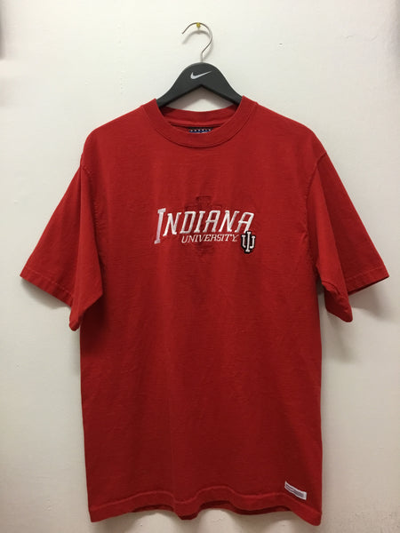 Crable Softwear Indiana University IU Embroidered Tee-Shirt
