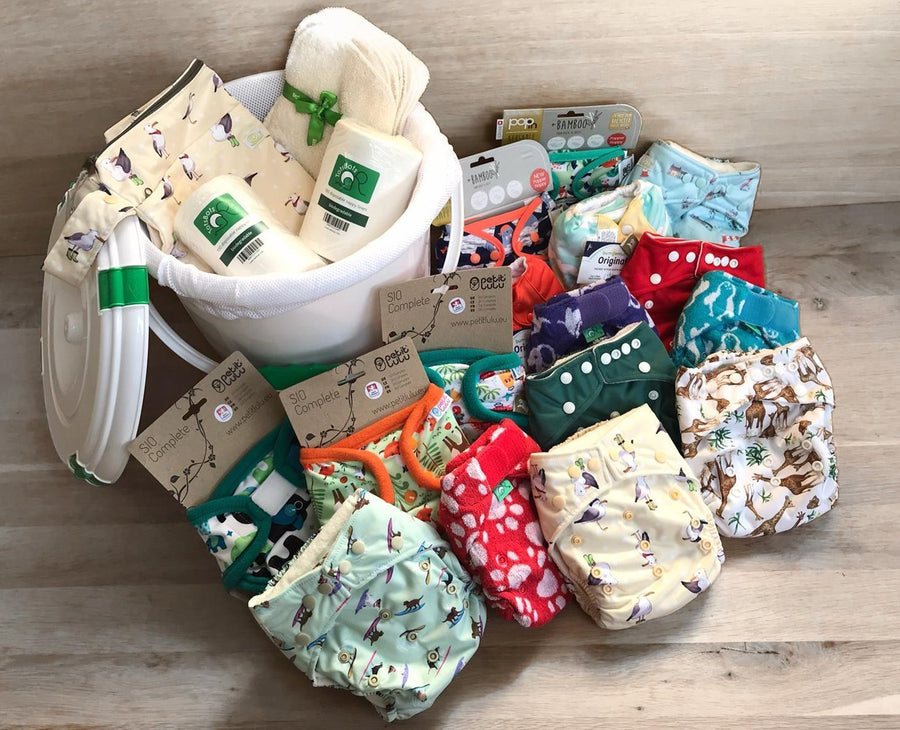 EXAMPLE of a BUILD-YOUR-OWN nappy kit