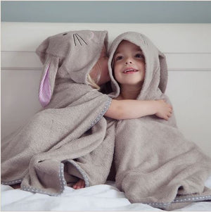 Cuddlebunny Bamboo Soft Hooded Towel by Cuddledry