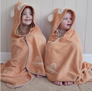 Cuddlemonkey Bamboo Soft Hooded Towel by Cuddledry