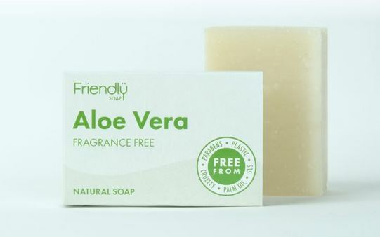 Friendly Soap: Aloe Vera Soap Bar 95g