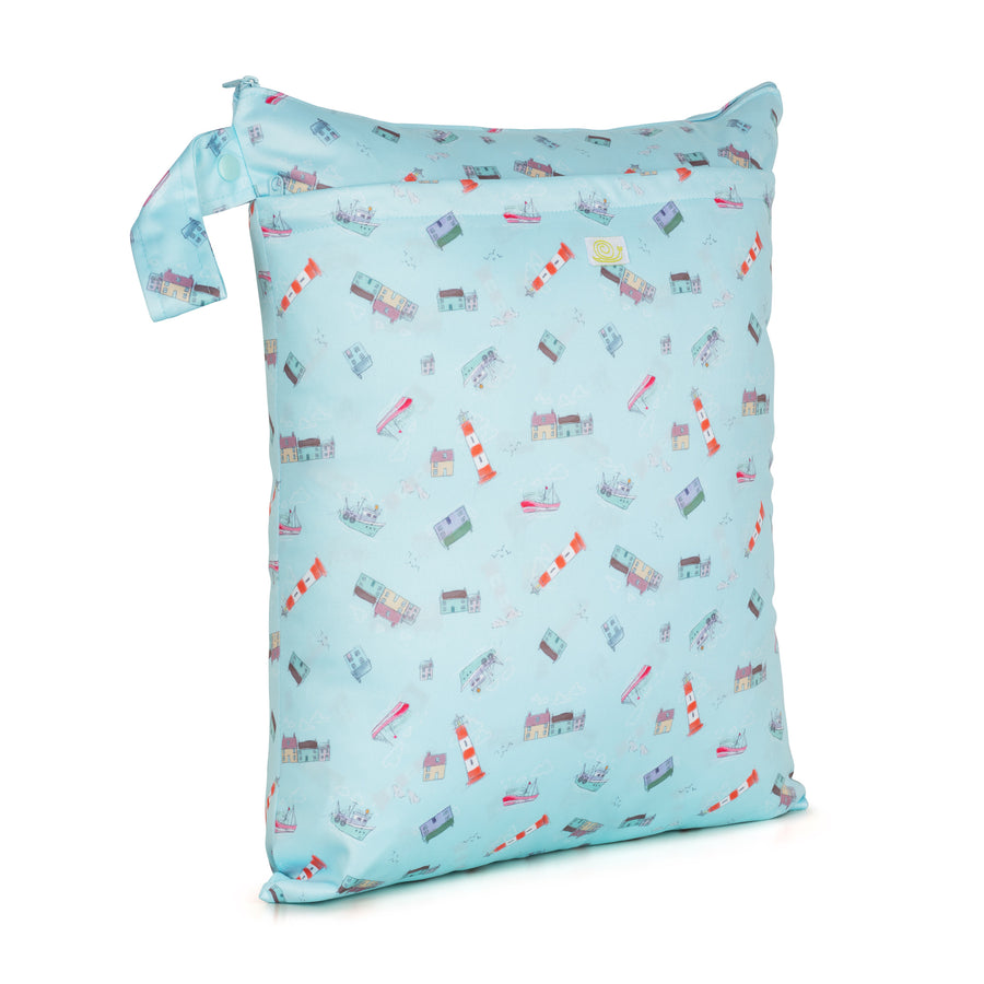 Reusable DOUBLE wet bag by Baba & Boo - MEDIUM