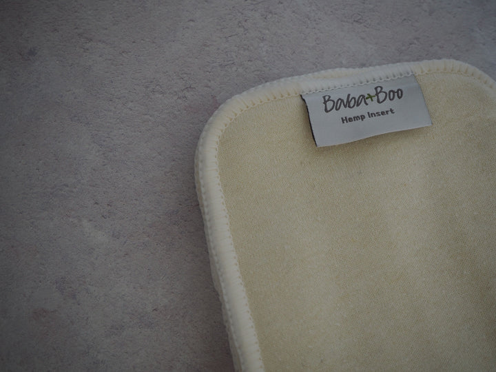 Hemp booster pad by Baba & Boo