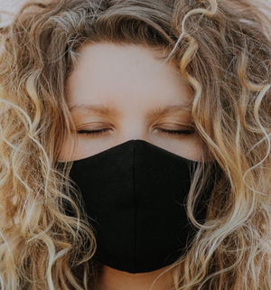 Reusable cotton face masks by Wooly Organic 10% OFF