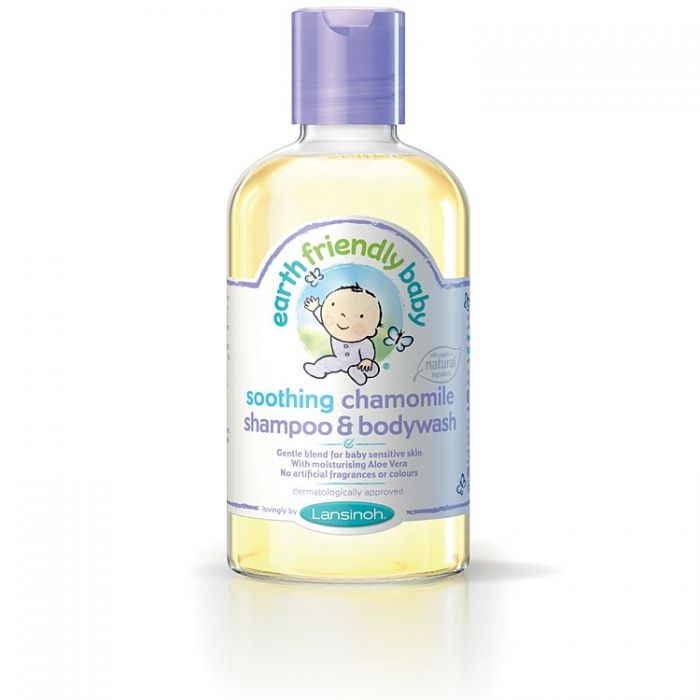 Earth Friendly Baby Shampoo & Bodywash - Camomile 250ml