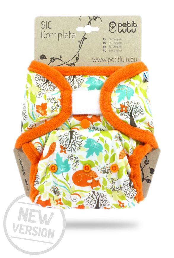 Complete Snap In One (SIO) Nappies by Petit Lulu