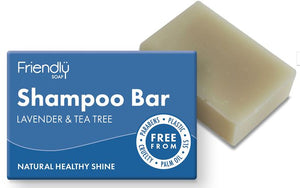Friendly Soap: Lavender and Tea Tree Oil Shampoo Bar