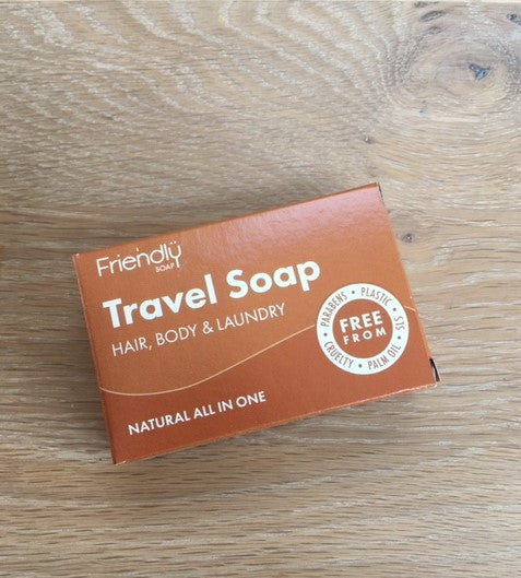Friendly Soap: Travel Soap Bar 95g