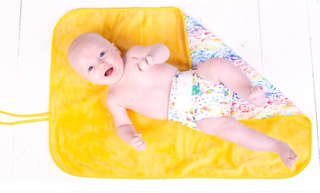 Tots Bots 'Happy Mat' Baby Change Mat