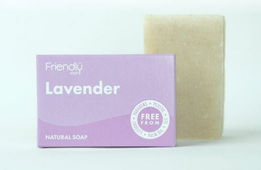 Friendly Soap: Lavender Soap Bar 95g