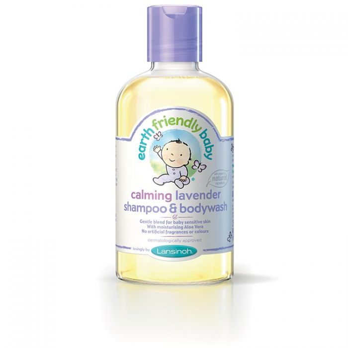 Earth Friendly Baby Shampoo & Bodywash - Lavender 250ml