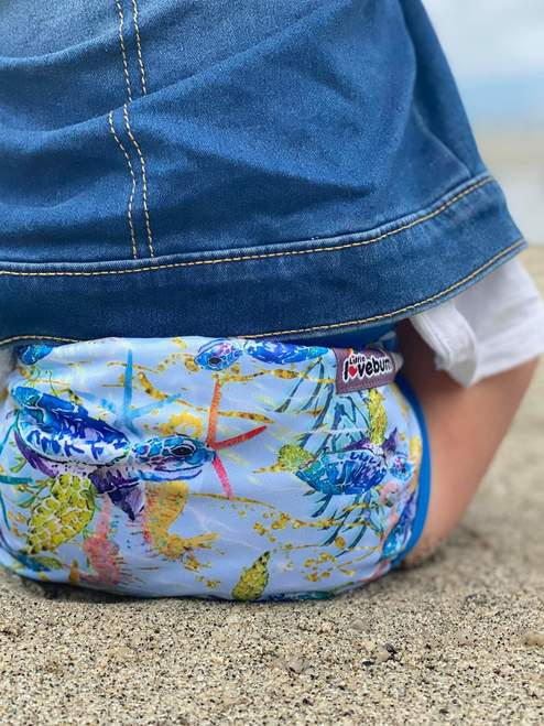Little Lovebum 'Quickdry' Nappy