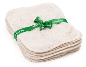 Little Lamb Organic Cotton Wipes x 10