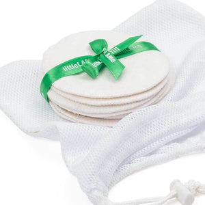 Bamboo breast pads by Little Lamb (5 pairs)