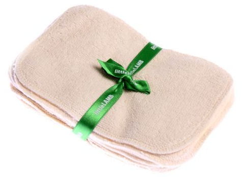 Washable baby wipes