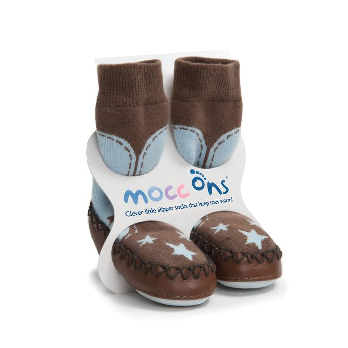Mocc-Ons baby slipper socks