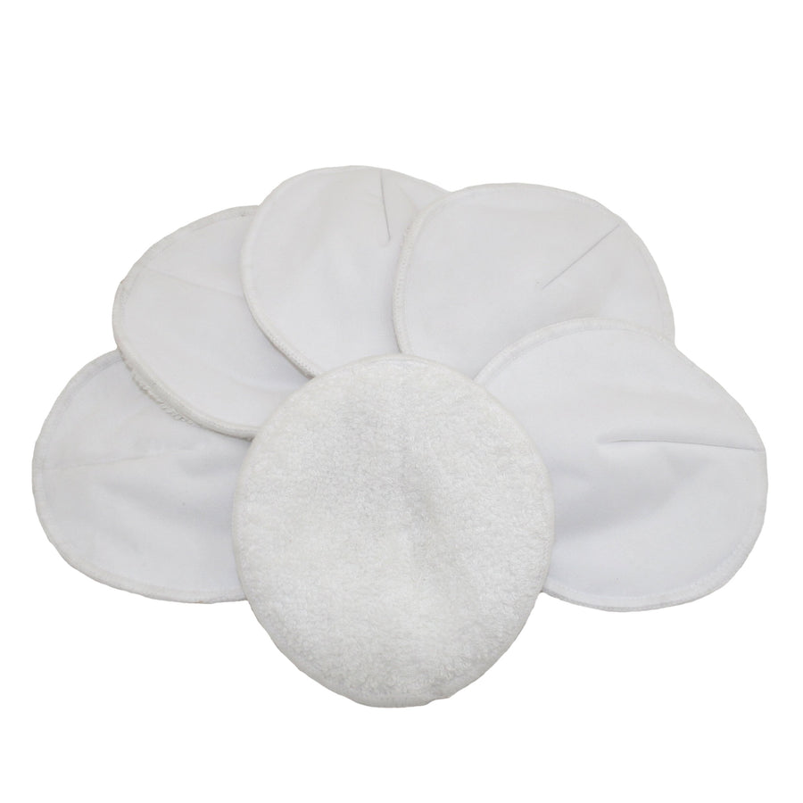 Bamboo Cotton Nursing Pads by MuslinZ (3 Pairs)