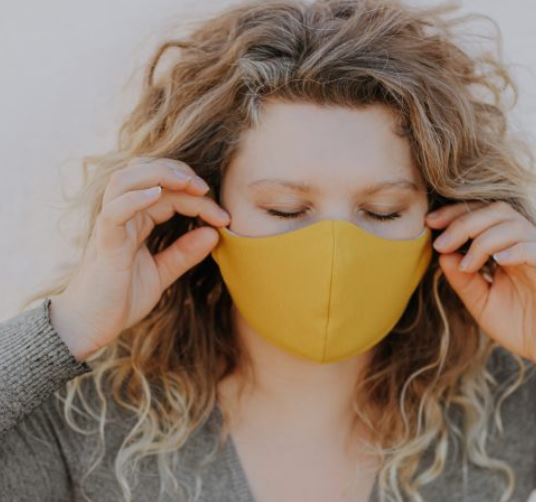 Reusable cotton face masks by Wooly Organic