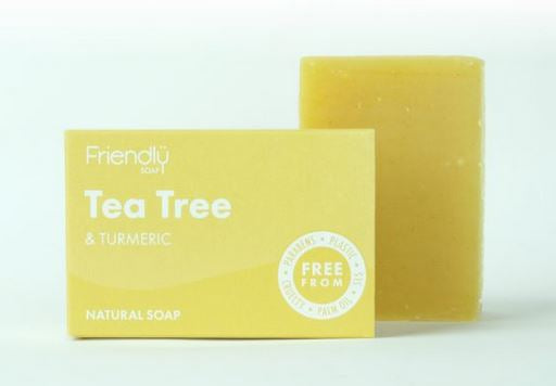 Friendly Soap: Tea Tree and Turmeric 95g