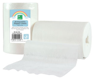 TotsBots Disposable Spunlace Nappy Liners (100)