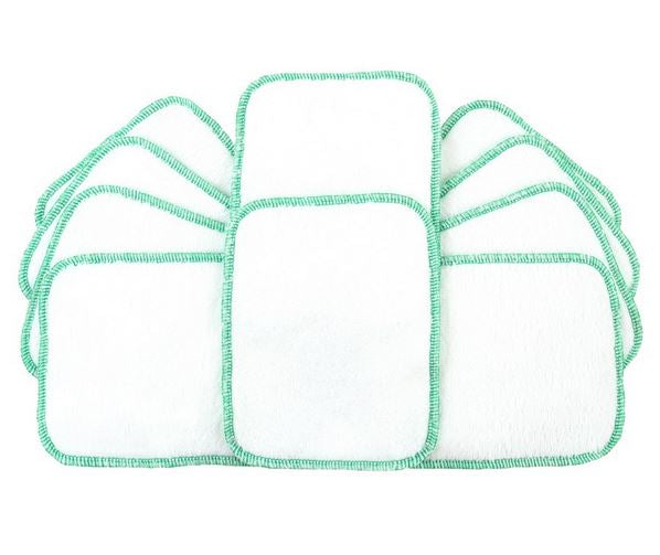 Tots Bots washable baby wipes x 10