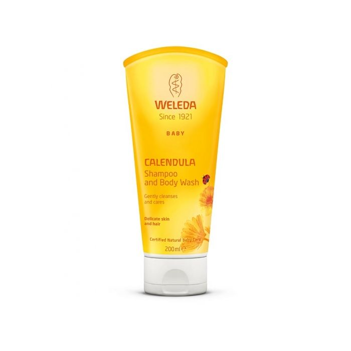 Weleda Calendula Shampoo & Body Wash 200ml