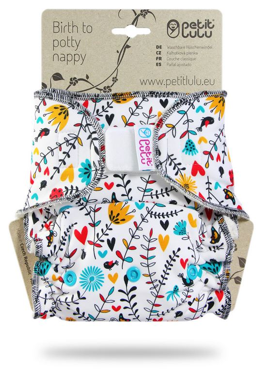 One Size Day Nappy by Petit Lulu
