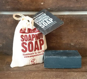 Activated Charcoal Soapnut Soap 90g