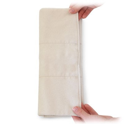 Organic night-time inserts for FLIP nappies (single insert)