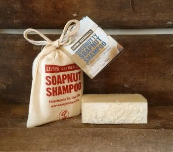 Coconutty soapnut shampoo bar 90g