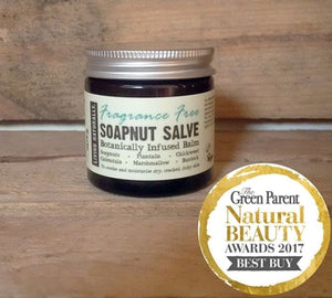 Fragrance Free Healing Soapnut Salve 60ml