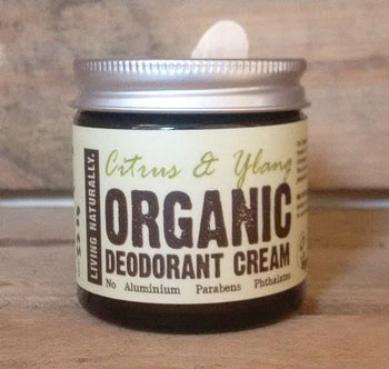 Organic deodorant cream - Citrus and Ylang 60ml