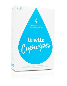 Lunette Cupwipes x 10
