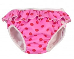 Imse vimse swimming nappies - pink dots