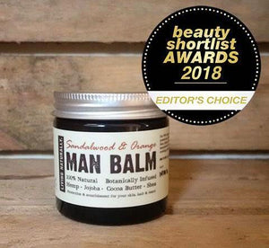 Botanic Man Balm - Sandlewood & Orange