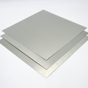 "Mill Finish Aluminum Sheets, 0.025"" Thickness - Ten Sheets"
