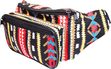 Load image into Gallery viewer, Aztec Tribal Festival Bum Bag