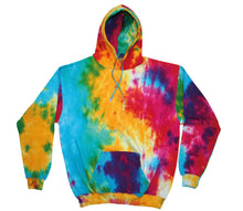Load image into Gallery viewer, Ocean Swirl Tie Dye Hoodie