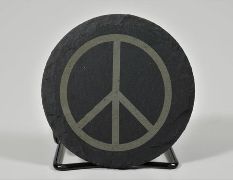 Peace Sign - Single Coaster