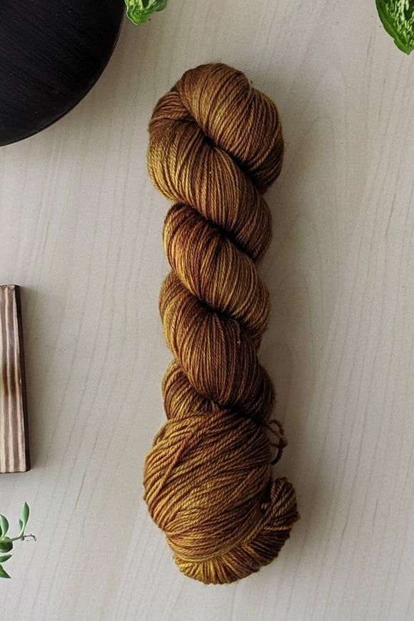 Baltic Amber - Merino Squish - Bulky Weight - Sale