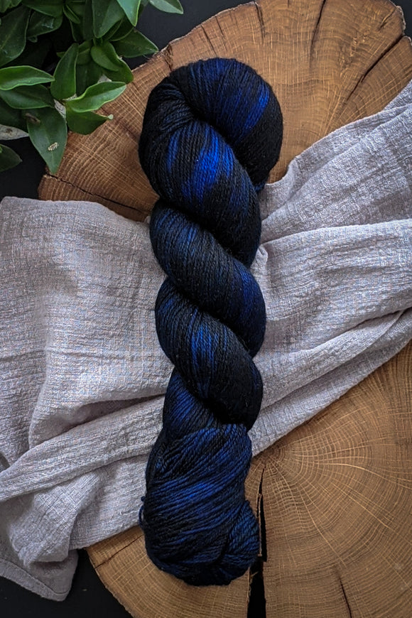 Half Past Midnight - Dark Misfit - Classic Merino - Fingering - Sale
